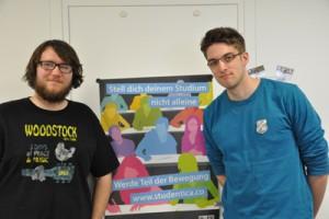 Florian Reifschneider (l.) und Alex Klein. Foto: Frerichs