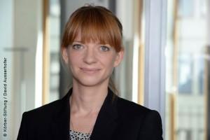 Soziologin Greta Wagner hat für ihre Doktorarbeit zum Thema »Neuroenhancement« den WISAG-Preis 2015 erhalten; Foto: Körber-Stiftung / David Ausserhofer