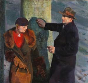Reinhold Ewald: Bertel Ewald und Louis Wahn, um 1940. Privatbesitz; Foto: Dettmar