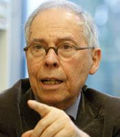 Prof. Dr. Dr. h.c. Spiros Simitis gilt als »Vater des Datenschutzes«