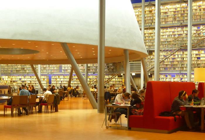 Goethe Uni Bibliothek