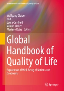 Wolfgang Glatzer, Laura Camfield, Valerie Moller, Mariano Rojas (Hg.), Exploration of Well-Being of Nations and Continents, Springer Verlag 2015