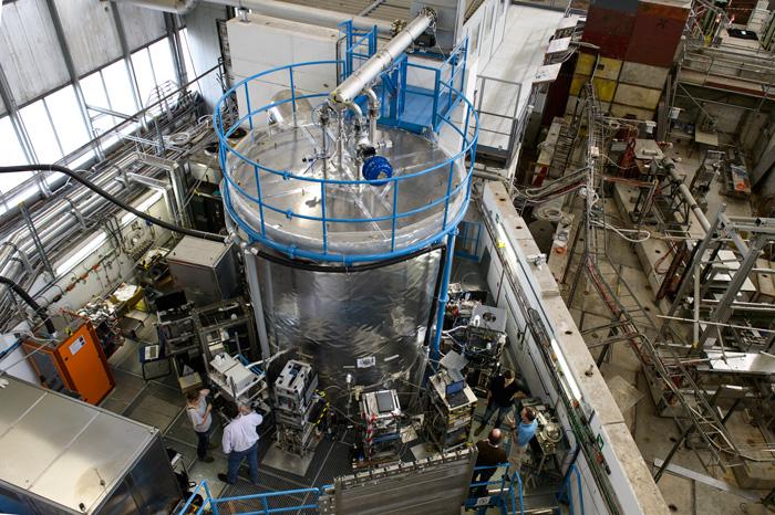 """Das """"CLOUD-Experiment"""" in der Kernforschungseinrichtung CERN (Oktober 2013); Foto: © CERN"""