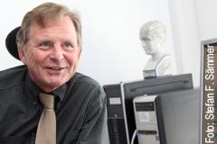 Prof. Dr. Helmuth Steinmetz vom Universitätsklinikum Frankfurt ist aktuell Sprecher des Rhine-Main Neuroscience Network rmn2; Foto: Stefan F. Sämmer