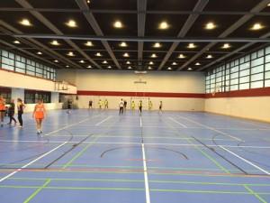 Sportcampus Ginnheim: Halle 1 komplett saniert.