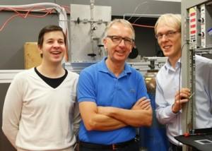 Markus Schöffler, Reinhard Dörner und Martin Pitzer. Foto: U. Dettmar.