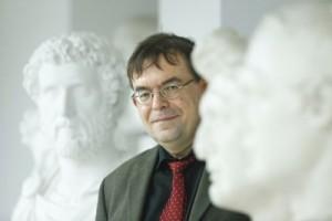 Prof. Hartmut Leppin, seit 2001 Professor für Alte Geschichte an der Goethe-Uni; Foto: Uwe Dettmar