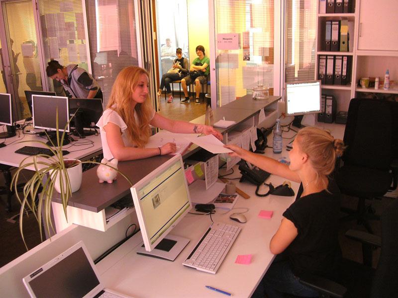 Das Servicenter MoPS ist die zentrale Anlaufstelle für Bachelor- und Masterstudierende des FB 04.