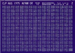 Das schnelle Altern von Speichermedien: Mikrofiche aus dem Jahre 1975; Foto: ullstein bild – NMSI/Science Museum / Science Museum