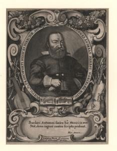 Sebastian Furck: Johann Andreas Herbst, Kupferstich, [Frankfurt am Main] 1635 (UB Frankfurt/M, S36_G04115)