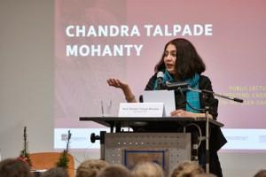 Chandra Talpade Mohanty; Foto: Lecher