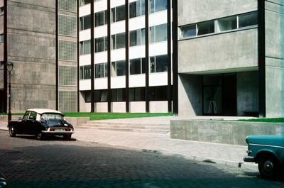 Philosophisches Seminargebäude (Philosophicum), 1960. Foto: Ferdinand Kramer; © Privatarchiv Kramer.