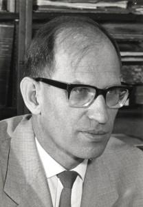 Walter Rüegg; Foto: Universitätsarchiv Frankfurt
