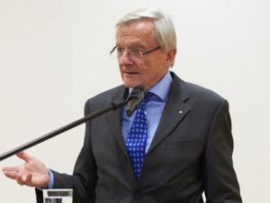 Österreichs Ex-Bundeskanzler Wolfgang Schüssel; Foto: Stefanie Wetzel