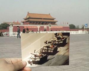 """""""Unforgettable Memory"""", 2009. Video, 10' 17"""", Chinesisch mit englischen Untertiteln. Liu Wei, geb. 1965 in China, lebt in Beijing; Foto: Associação Cultural Videobrasil"""