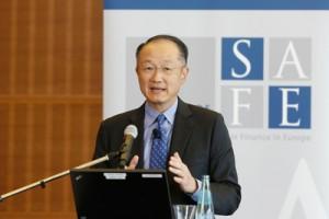 Zitierte auch Goethe: Weltbankpräsident Jim Yong Kim; Foto: Dettmar