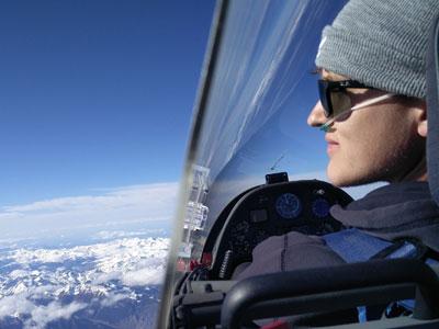 Akaflieg-Expedition in dem Pyrenäen; Foto: Akaflieg Goethe-Uni