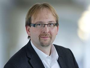 Unterstützt die Initiativen der Early Career Researchers: Vizepräsident Prof. Enrico Schleiff. (Foto: Uwe Dettmar)