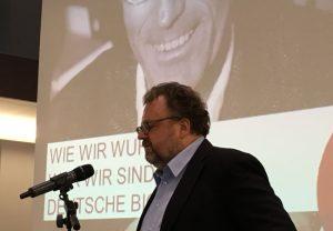Jürgen Kaube würzte seinen Vortrag über Niklas Luhmann mit zahlreichen Anekdoten und Zitaten