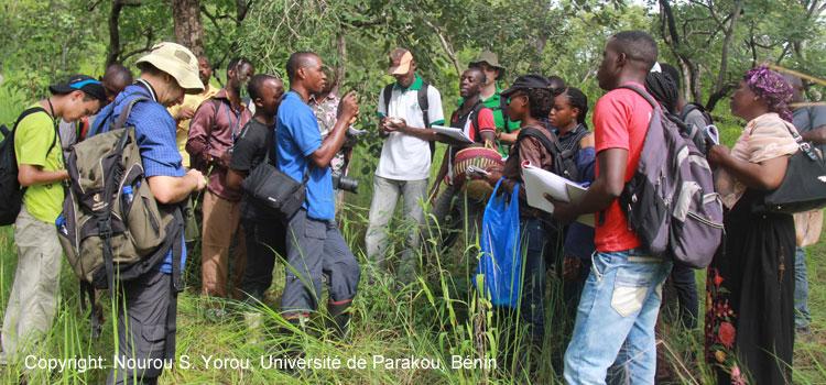 Teilnehmer an einer Summerschool in Benin zur Mykologie (Pilzkunde). Im September 2015 fand in Benin eine zweiwöchige Summerschool statt, die zum Ziel hat, junge Nachwuchswissenschaftler und Studenten aus Westafrika und Deutschland in tropischer Mykologie (Pilzkunde) auszubilden und ein westafrikanisch-deutsches Netzwerk zur Pilzforschung und Lehre aufzubauen. Sie ist Teil einer von der Volkswagen Stiftung bewilligten Serie von drei aufeinander folgenden Summerschools, die in den Jahren 2015 bis 2017 durchgeführt werden. Organisiert werden die Summerschools von der Professur Mykologie am Institut für Ökologie, Evolution & Diversität der Goethe-Universität mit logistischer Unterstützung des ZIAF und dem gastgebenden beninischen Partner an der Universität Parakou.