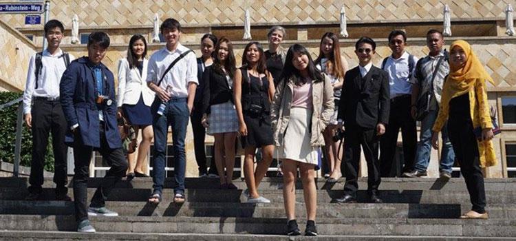 Summer School: Studierende aus Thailand zu Gast an der Goethe-Uni; Foto: