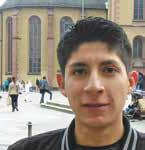 Daniel Amador Sánchez (22) aus Mexiko City