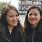 Vipahwa Vongsantivanich und Nathanan Charoenkitchaikarn (beide 20) aus Bangkok
