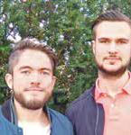 Simon Thorn (24) und Oliver Hagström (23) aus Linköping