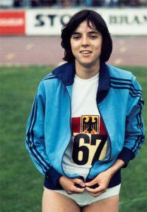 Sylvia Schenk 1974; Foto: WEREK Pressebildagentur