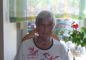 Die 86-jährige Patientin, die erfolgreich mit der Thermoablation behandelt wurde. Foto: Universitätsklinikum