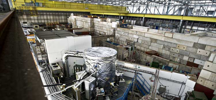 CLOUD-Experiment am CERN. Foto: CERN, Maximilien Brice