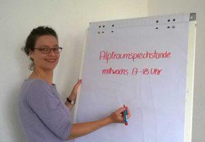 Carolin Schmid, Leiterin der Alptraumstudie. Foto: Anne Hardy