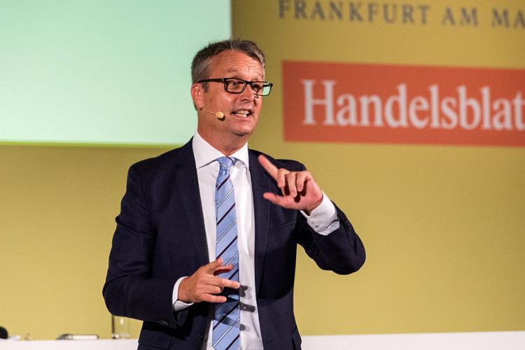 Unterhaltsame Moderation: Handelsblatt-Herausgeber Gabor Steingart