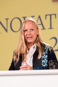 Unipräsidentin Prof. Birgitta Wolff begrüßte die 600 Gäste.