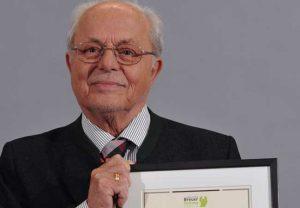 Prof. Heiko Braak erhielt den Alzheimer-Forschungspreis. Foto: Kai Gettner