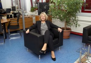 Tatort-Fan: Sabine Thurau, Präsidentin des Hessischen LKA. Foto: LKA