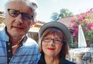 Selfie von Tim und Claudia Pillar.