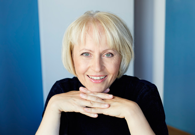 Ulrike Draesner; Foto: Jürgen Bauer
