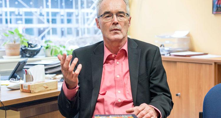 Das Institut für Ethologie und Afrikastudien, an dem Prof. Dr. Thomas Bierschenk tätig ist, ist eines der größten universitären sozial- und kulturwissenschaftlichen Afrikazentren in Deutschland; Foto: Stefan F. Sämmer