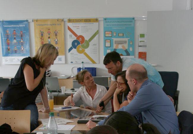 Die Multimediawerkstatt steht eLearning-Interessierten der Goethe-Universität und von externen Bildungseinrichtungen offen; Foto: Privat