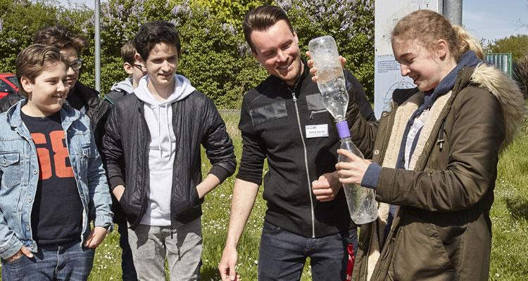 Regionalpark rheinmain wird outdoor klassenzimmer for Uni offenbach