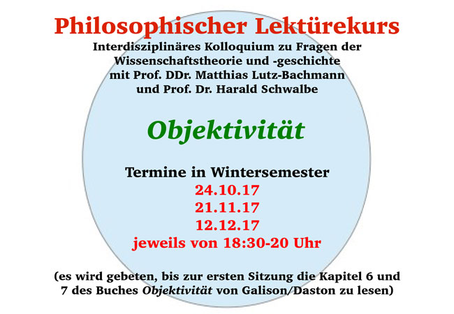 Philosophischer lekt rekurs objektivit t aktuelles aus for Uni offenbach