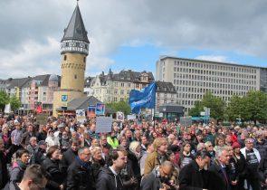 "Foto vom ""March for Science 2017""; © Julia Krohmer"