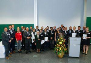 Die diesjährigen Preisträgerinnen und Preisträger der Giersch-Excellence-Grants und Giersch-Excellence-Awards. Bild: Uwe Dettmar