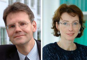 Prof. Kai Rannenberg  und Prof. Indra Spiecker