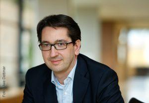 Atmosphärenforscher Prof. Joachim Curtius vom Fachbereich Geowissenschaften / Geographie der Goethe-Universität (Foto: Dettmar)