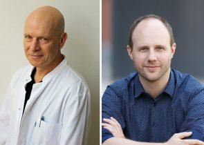 Prof. Jindrich Cinatl (links), Dr. Christian Münch