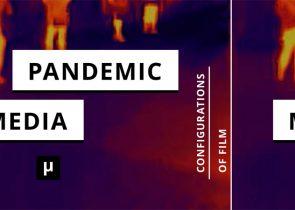 Die Temperatur der Pandemie: Dem Buchcover liegt ein Foto des Magnum-Fotografen Antoine D'Agata zugrunde, der seit April mit einer wärmeempfindlichen Kamera Pariser Straßenszenen und Vorgänge in Krankenhäusern dokumentiert (Foto: Cover (c) meson press/Mathias Bär/Antoine D'Agata)