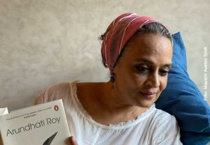 Arundhati Roy will be a virtual guest at Goethe University on 22 January 2021.