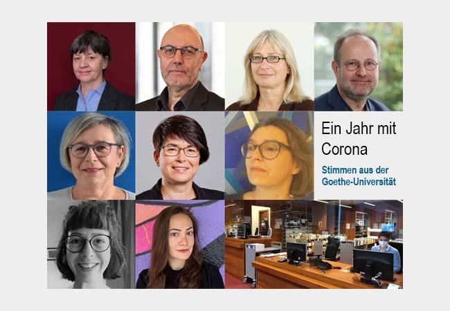 Ein Jahr Mit Corona Stimmen Aus Der Goethe Universitat Aktuelles Aus Der Goethe Universitat Frankfurt